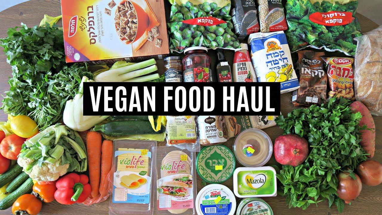 WHAT I EAT IN A WEEK // VEGAN FOOD HAUL!
