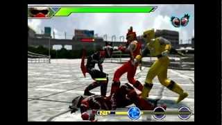 (PSX) Power  ranger Tempestade ninja parte 1