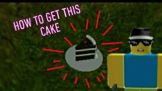 How to get the cake badge in ROBLOX 2 player secret underground tycoon