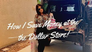 How I save money at the dollar store