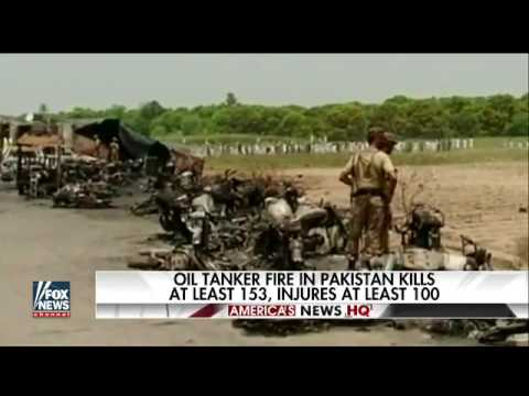 Truck explosion today in Pakistan kills at least 153