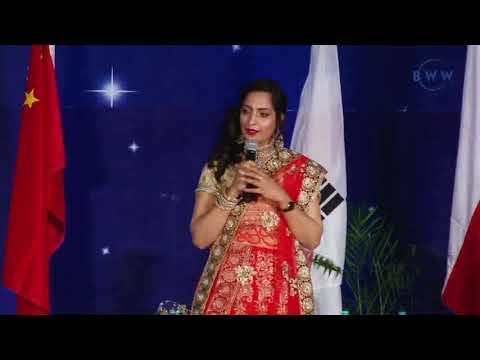 B.S Boparai and kamal preet kour diamond speech in hindi big seminar