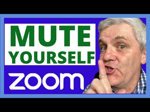 how-to-mute-yourself-on-zoom-#zoom-#wfh