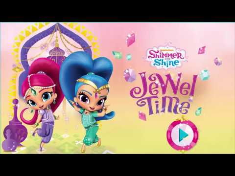 Nick Jr.Shimmer and Shine Games - Shimmer and Shine Jewel Time - GamePlay 2017