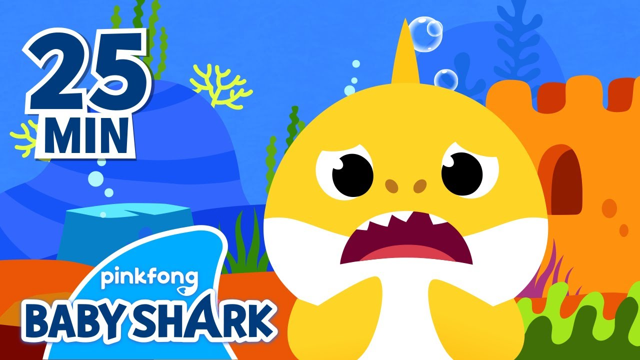 Baby Shark Teeth and more | +Compilation | Baby Shark Songs Playlist | Baby Shark Official