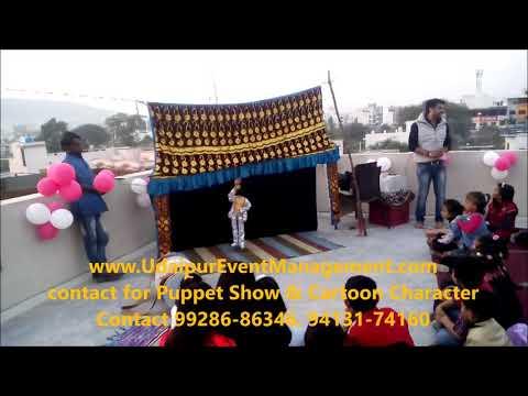 Indian Traditional kathputali show, Puppet Show, Cartoon Character, Artist Management Contact 992868