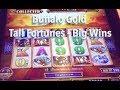 Big Wins on Buffalo Gold Tall Fortunes Slot Machine