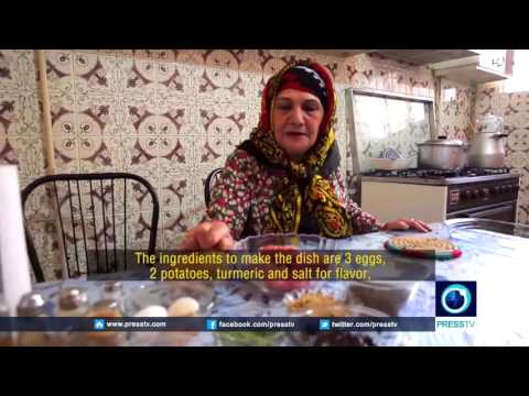 IRAN Lorestan Cuisine Iranian traditional food