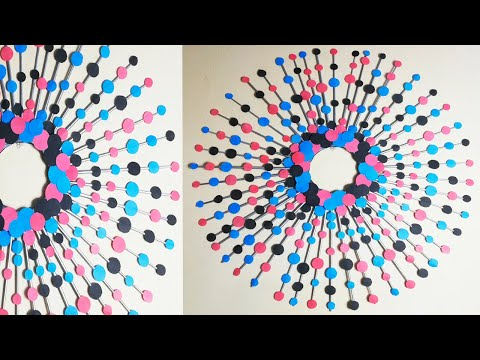 Paper Wall Hanging Room Decor Ideas at home DIY Wall Hanging