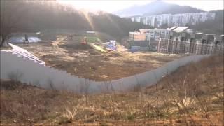 강남보금자리지구 내 풍문고등학교 건설현장 2016년3월…