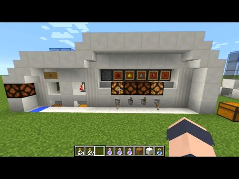 Minecraft - Tutorial: Automatic Potion Brewing Lab