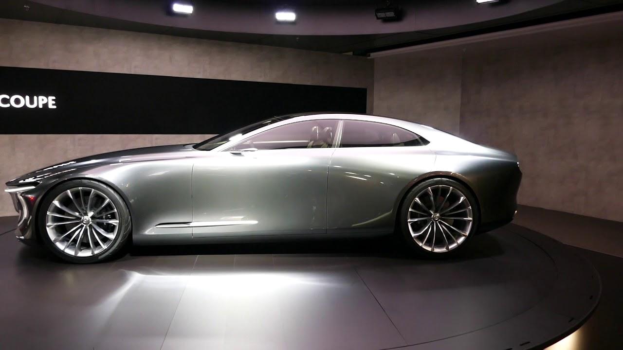 new 2018 mazda vision coupe concept car - exterior tour - 2017 la