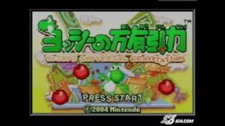 Yoshi Topsy Turvy Game Boy Gameplay_2005_01_12_1