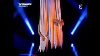 "Duo Pospelov - ""The Blind Love"", aerial silks duo"