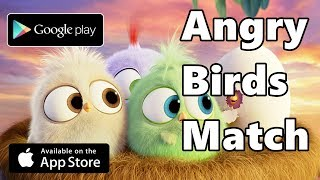Angry Birds Match - Android/ios Gameplay