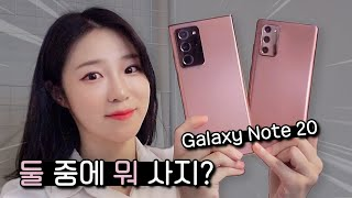 Half Bros? Galaxy Note 20 VS Galaxy Ultra New Function & Difference!!!!!