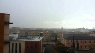 Chubasco en Ciudad Real 21/11/15 (2º parte)