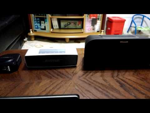 TDK A12 Trek Micro vs Bose Soundlink Mini vs Klipsch KMC1