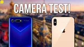 Honor View 20 vs Apple iPhone XS Max: Camera Comparison!