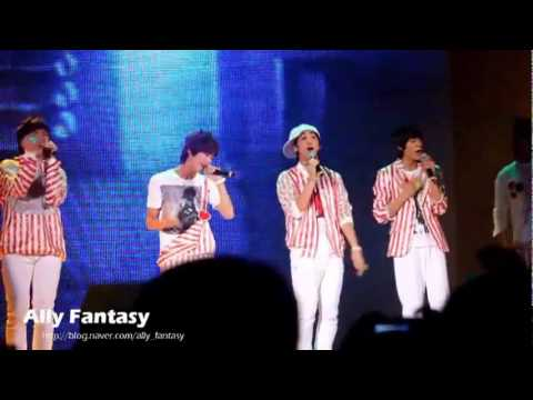 110611 B1A4 - With You Live in Lotte World