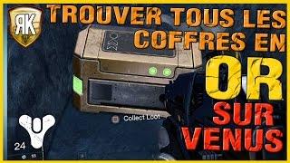 Destiny: Ou trouver tous les coffres en OR cachés sur Venus - PS3 HD Français - RK