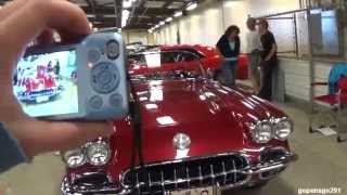 The exhibition park indoor car show
