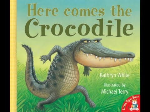Here Comes the Crocodile - Read Aloud Bedtime Story - Books for children.