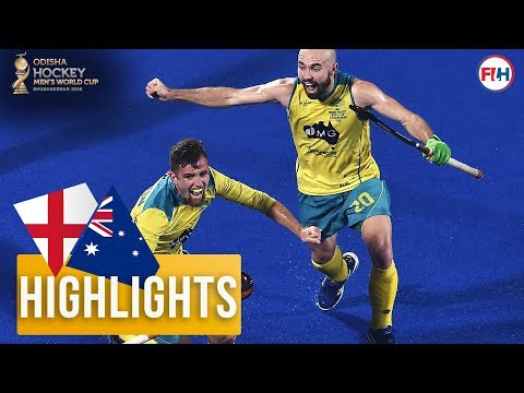 England V Australia | Odisha Men's Hockey World Cup Bhubaneswar 2018 | HIGHLIGHTS