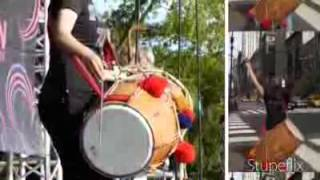 The Magic of RANI TAJ International Dhol Player - YouTube.FLV