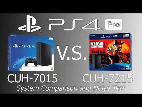 PS4 Pro CUH-7015 Vs CUH-7215 Model Comparison And Noise Test