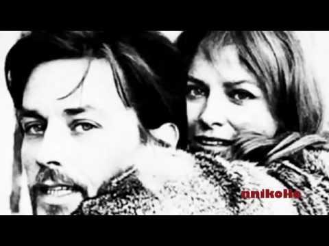 Alain Delon And Nathalie Delon