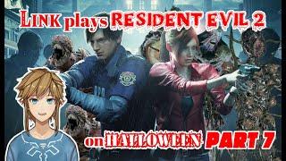 Link plays Resident Evil 2 on Halloween - part 7