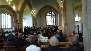 Flying Free by Don Besig - Southampton University Singers - Summer Concert 2013