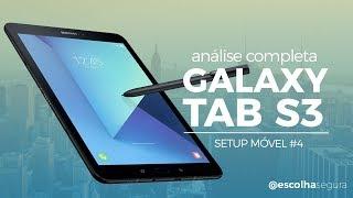 GALAXY TAB S3 - um tablet para MÍDIA, ARTISTAS e QUEM ADORA ESCREVER | Análise Completa!