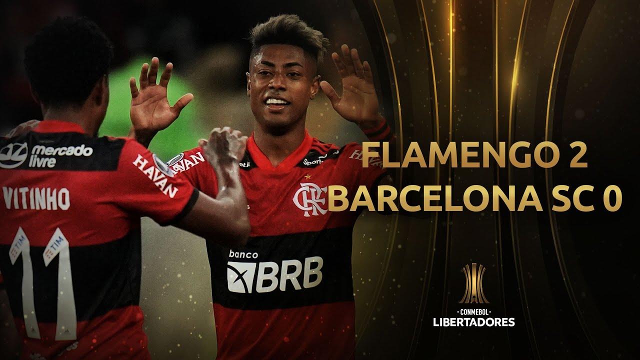 Download Flamengo vs. Barcelona SC [2-0] | RESUMEN | Semifinales | Ida | CONMEBOL Libertadores 2021