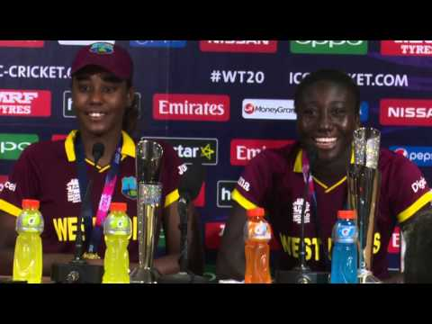 WOMEN'S FINAL - WEST INDIES - POST MATCH PRESS CONFERENCE