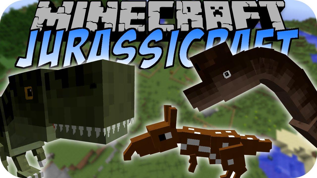 Minecraft JURASSICRAFT Dinosaurier Mod Deutsch YouTube - Minecraft dinosaurier spiele