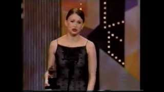 Sutton Foster wins 2002 Tony Award for Best Actress in a Musical