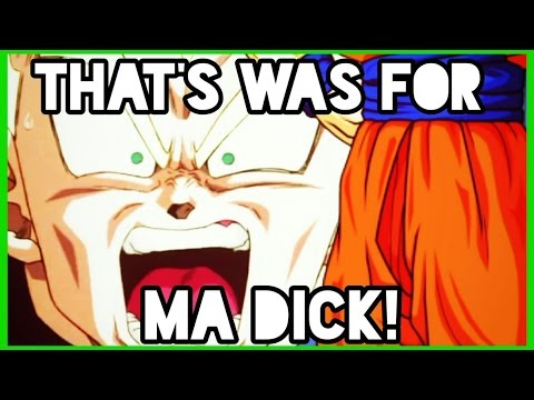 Anime Sins: Goku gets hit in the D***!