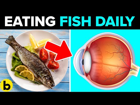 Eating Fish Every Day Will Do This To Your Body