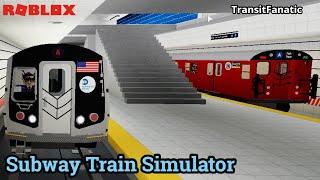 ROBLOX: U-Bahn-Zug-Simulator! R160B (A) Zug nach Coney Island (STS) selten