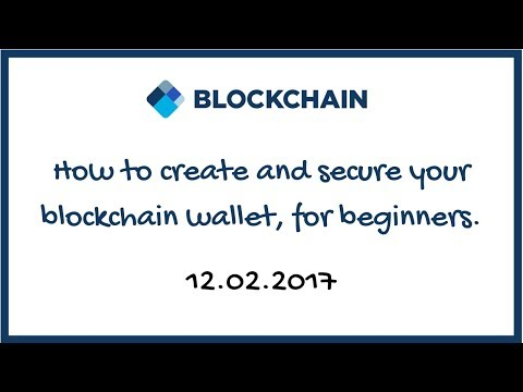 Blockchain wallet tutorial for beginners