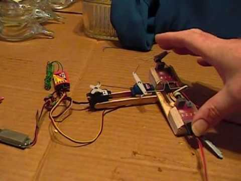 Rc Differential Steering Device Youtube
