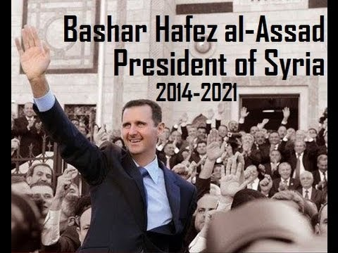 Dr. Bashar Hafez al Assad is President of Syria with sweeping majority at 88.7%