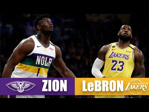 LeBron drops season-high 40 vs. Zion in their first Pelicans-Lakers duel | 2019-20 NBA Highlights