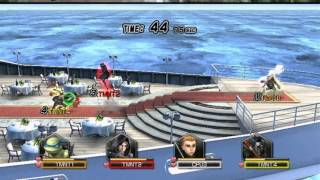Teenage Mutant Ninja Turtles Smash Up PC 2009 Gameplay