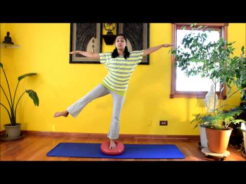 Dyna Disc Fun - Firm up Lower Body through these Exercises with Vidya Nahar - Daily Pilates 27