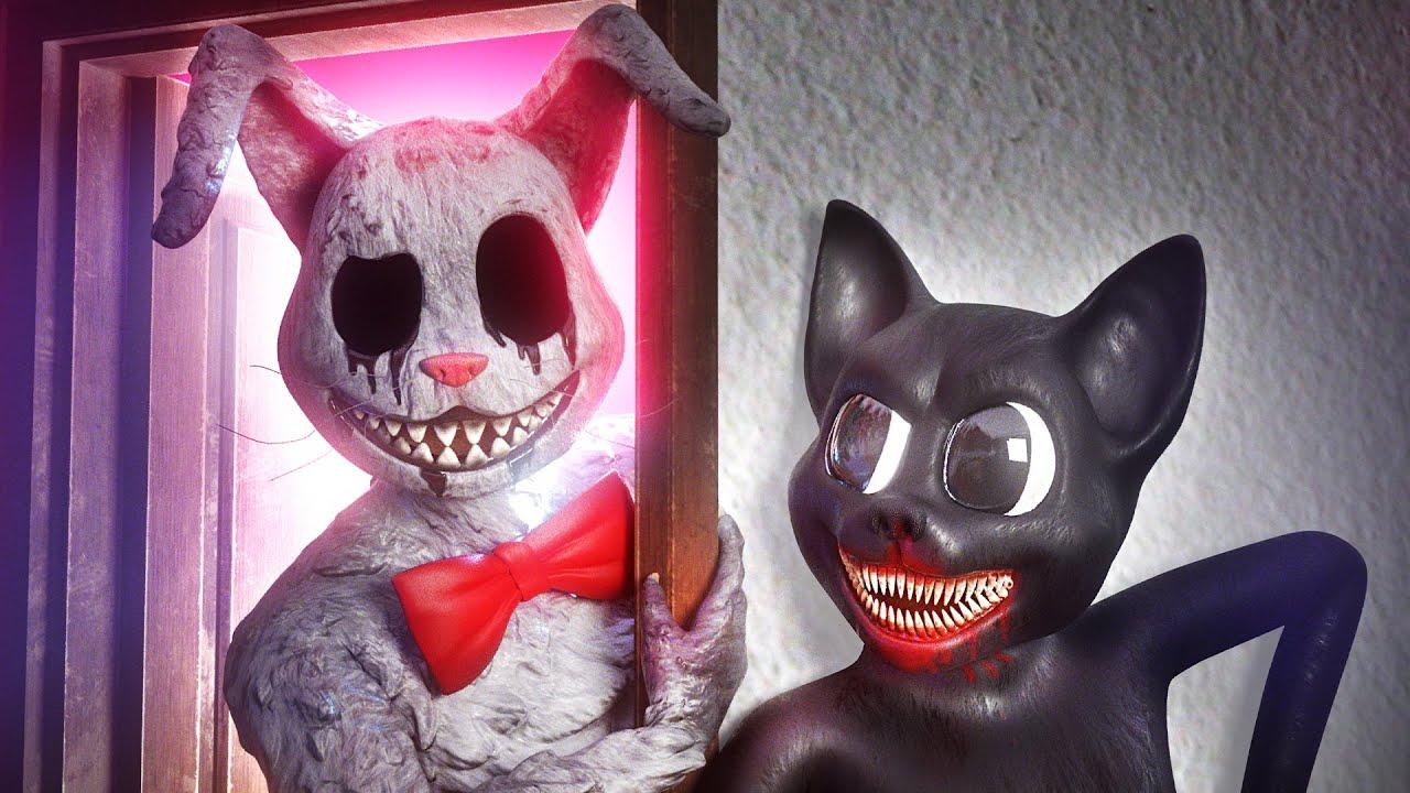Mr. Hopps vs Cartoon Cat