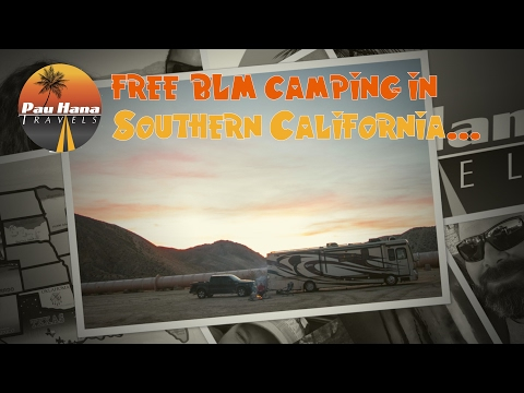 Free Camping in Southern California | E28