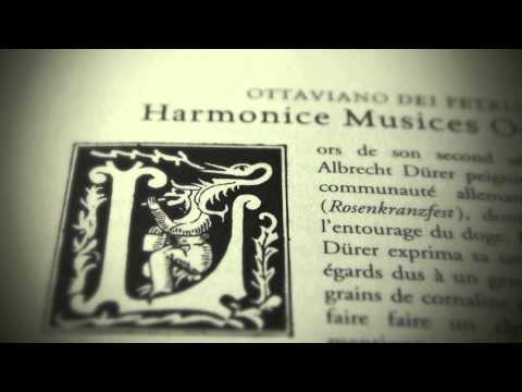 """POL REVUE Universally Reconsecrates """" HARMONICE MUSICES ODHECATON """" By OTTAVIANO DEI PETRUCCI"""